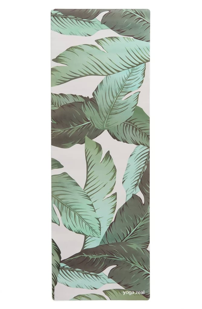 Banana Leaf Print Yoga Mat