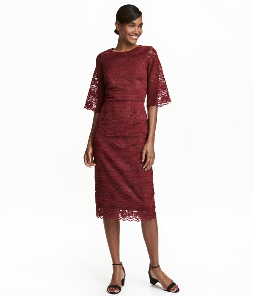 H&M Lace Dress ($60)