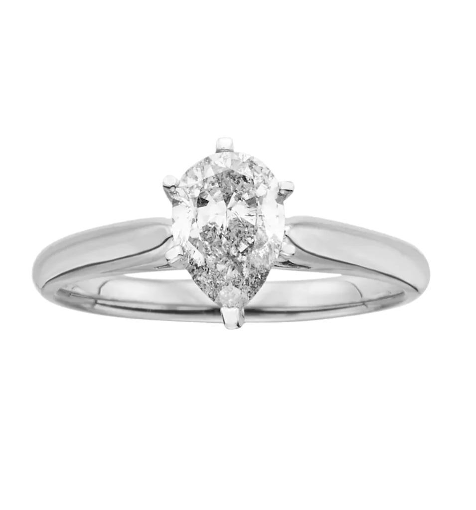 Kohl's Pear-Cut Diamond Solitaire Ring
