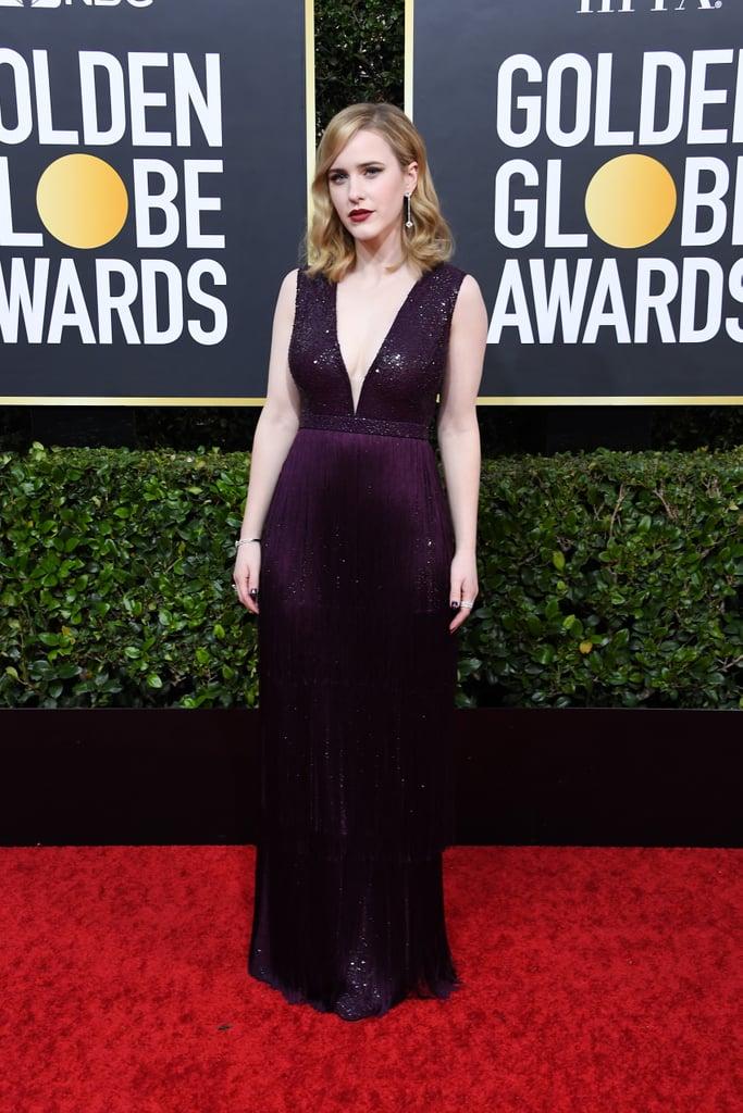 Rachel Brosnahan at the 2020 Golden Globes