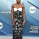 Lupita Nyong'o at the 2020 SAG Awards