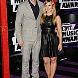 Kristen Bell and Dax Shepard at the 2013 CMT Awards.