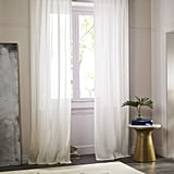 House Lannister: Sheer Belgian Flax Linen Curtain