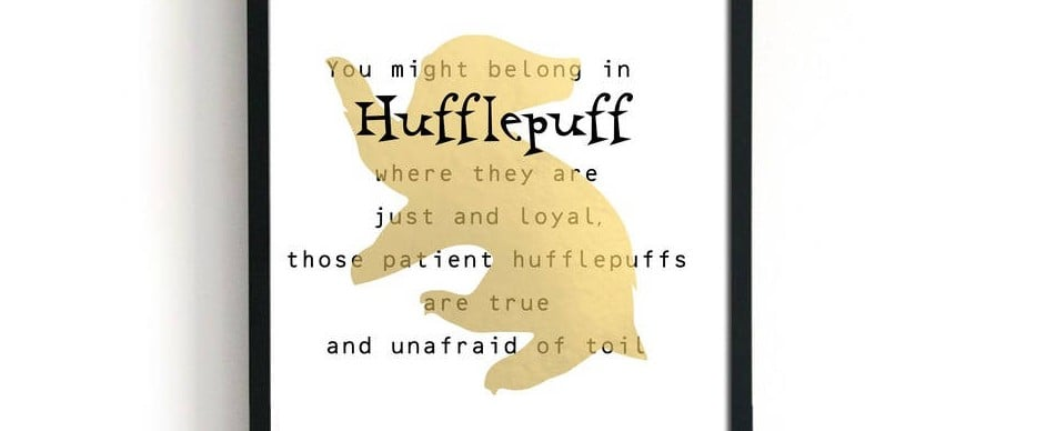 Harry Potter Hufflepuff Gifts