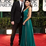 Channing Tatum and Jenna Dewan were together at the 2012 Golden Globes.