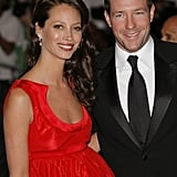 Christy Turlington and Edward Burns in 2008