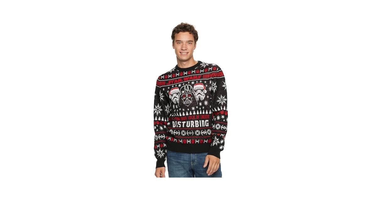 Ugly Sweater Star Side Best Mens Dark Wars Kohls Christmas 6qaph