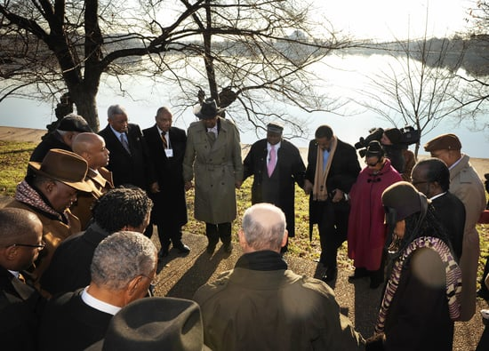 Friends of MLK Gather to Raise Funds For Memorial