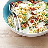 Tomato-Onion Linguine With Basil