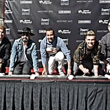 April: They Were Honored at Their Handprint Ceremony in Las Vegas