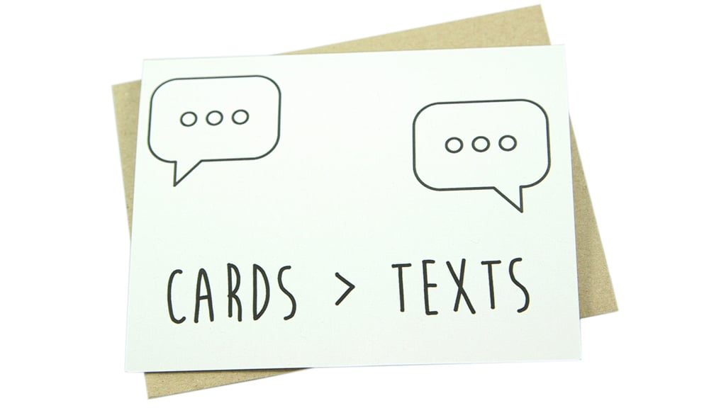 Cards > Text ($5)
