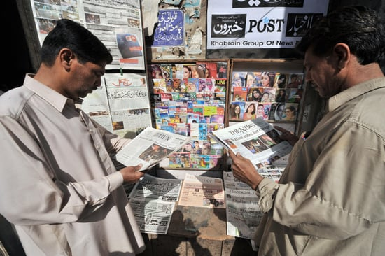 Headline: Musharraf Handed Big Defeat in Pakistani Elections