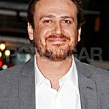 Jason Segel smiled on his way to a dinner date with Michelle Williams in NYC.