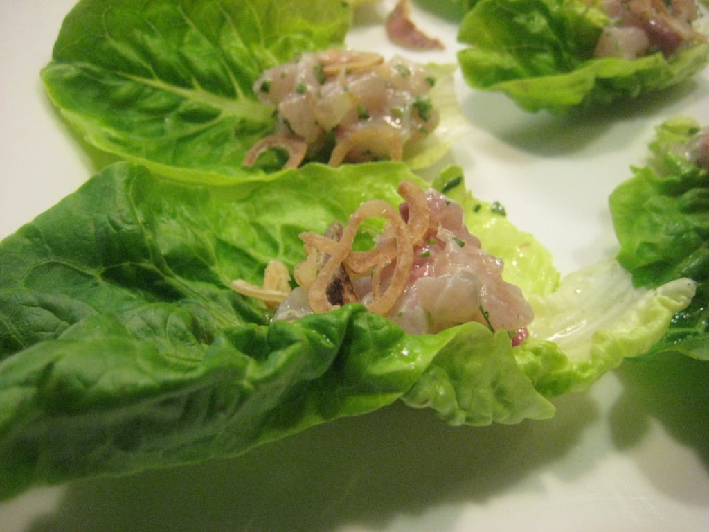 Lettuce Cups with Fish