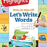 Write-On Wipe-Off Let's Write Words Book