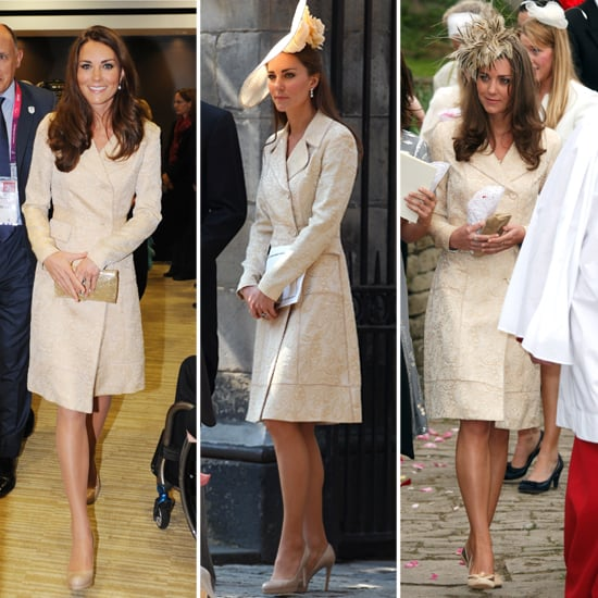 Kate Middleton Paralympics Day Birger Mikkelsen Coat Dress