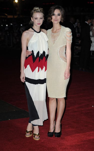 Carey Mulligan (in Vionnet) and Keira Knightley both looked impeccable on the Never Let Me Go London premiere red carpet.