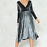Nasty Gal Velvet Dress