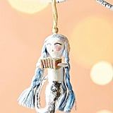 Anthropologie Merry Mermaid Ornament