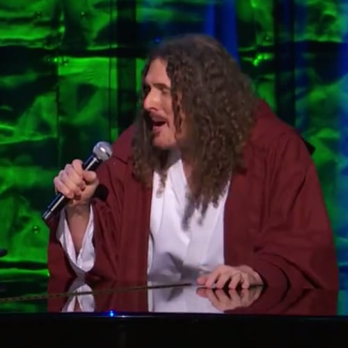 "Weird Al Yankovic Sings ""Yoda"" With Jodi DiPiazza Video"