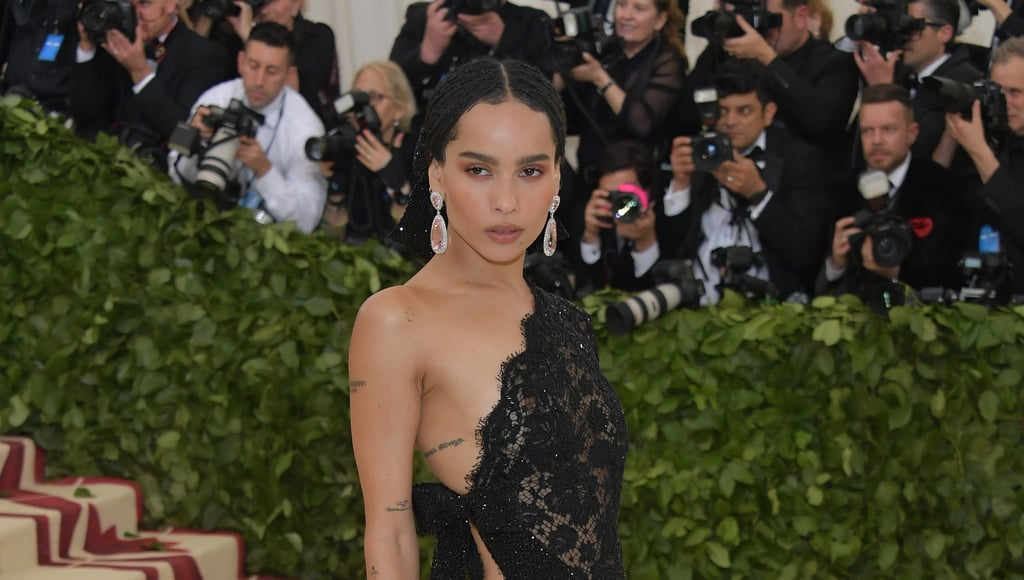 Zoë Kravitz Saint Laurent Met Gala Dress 2018