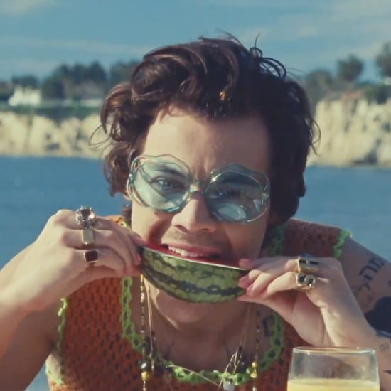 "Watch Harry Styles's ""Watermelon Sugar"" Music Video"