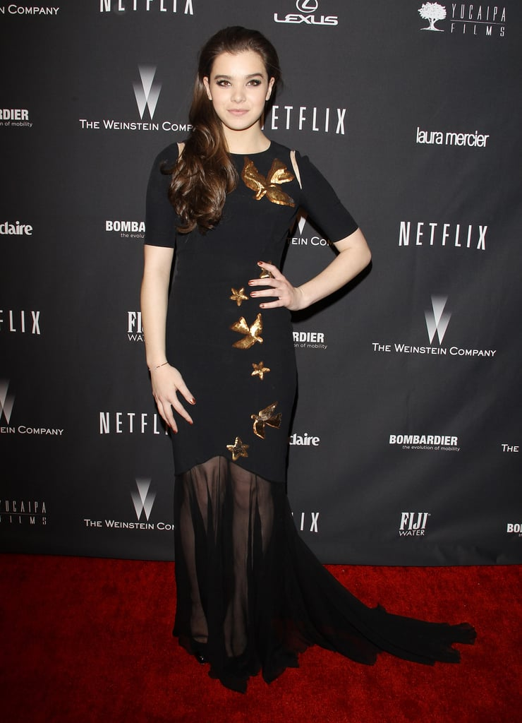 Hailee Steinfeld at the Netflix Golden Globes Afterparty