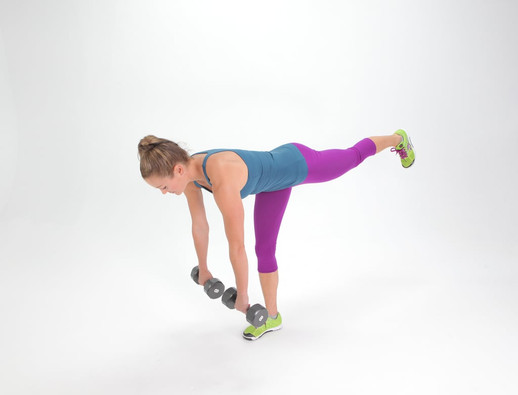Single-Leg Deadlift With Kettlebell