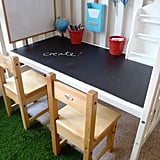 Upcycle Your Crib Into a Kids' Desk