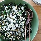 Kale Salad With Pecorino and Pine Nuts