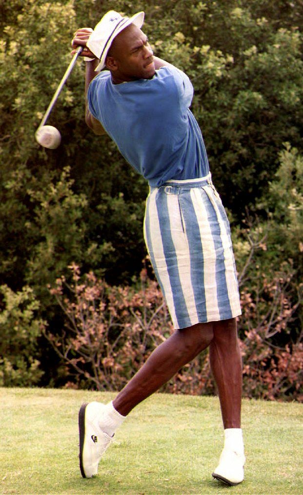 When Michael Jordan's Bucket Hat Was the Cherry on Top of This Swaggy Summer Outfit