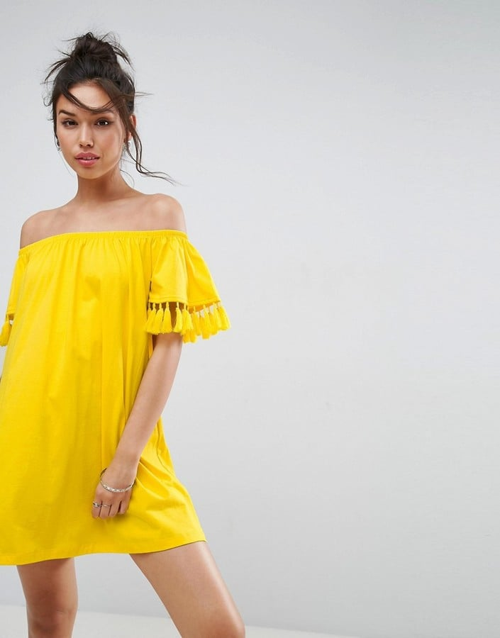 ASOS Off-Shoulder Sundress