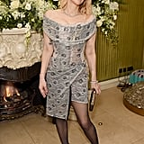 Courtney Love at the British Vogue and Tiffany & Co. Fashion and Film Party