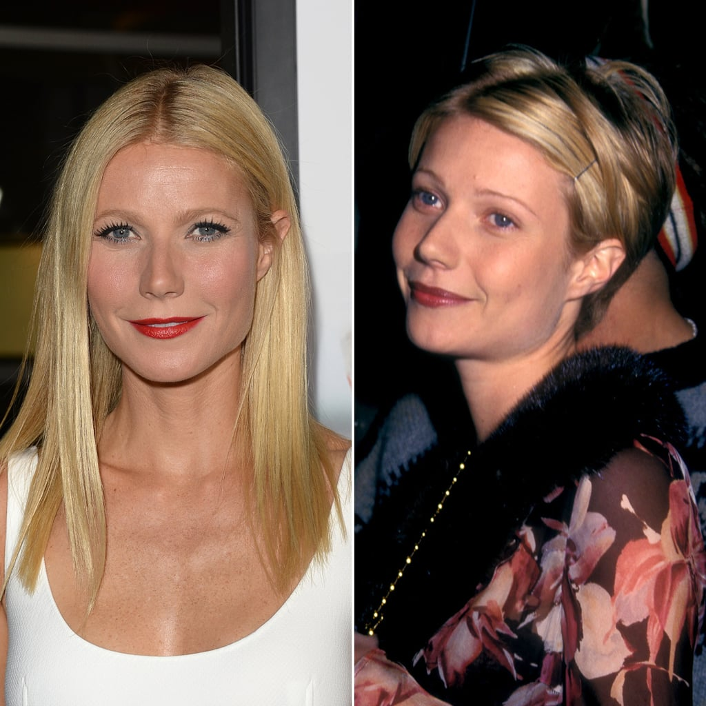 Gwyneth Paltrow Celebrities With Long And Short Hair Popsugar