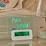 LED Scribble Alarm Clock