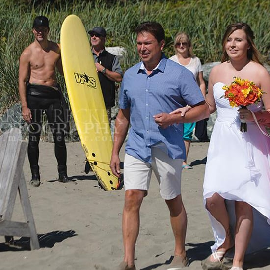 Justin Trudeau Shirtless Wedding Photobomb