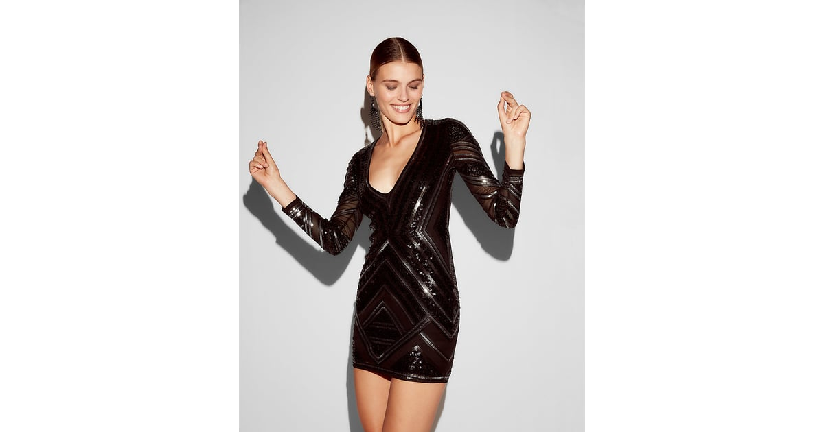 Express Sequin Dress