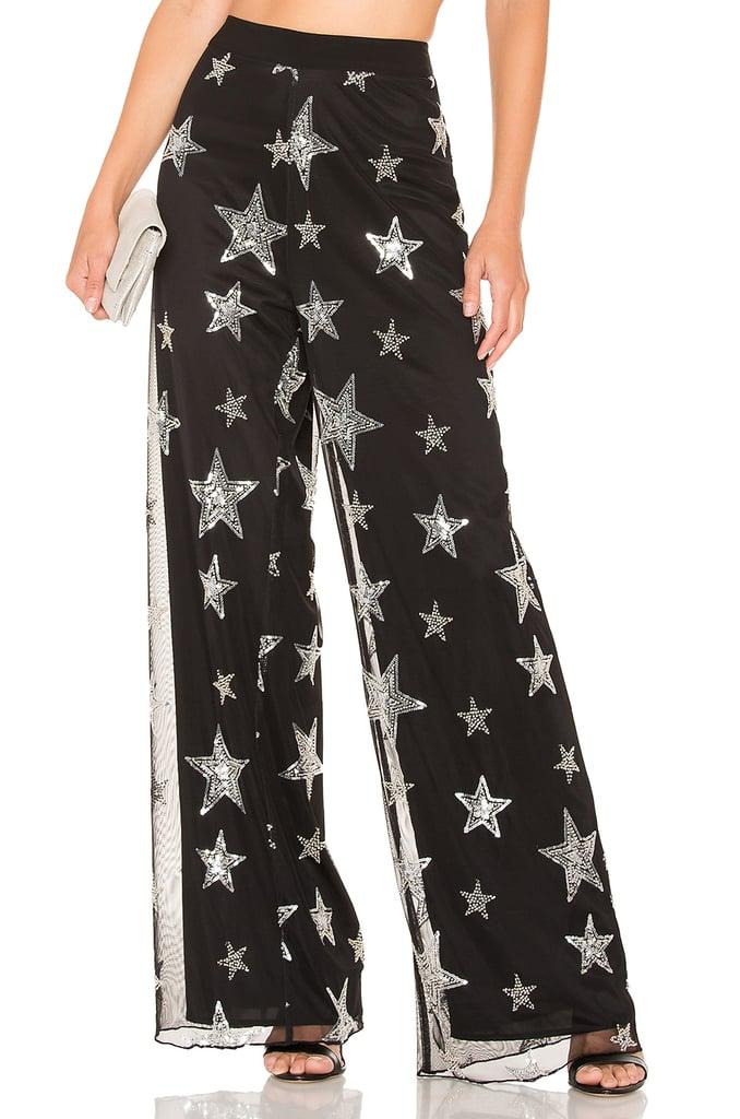 NBD x Naven Starry Night Pants in Black