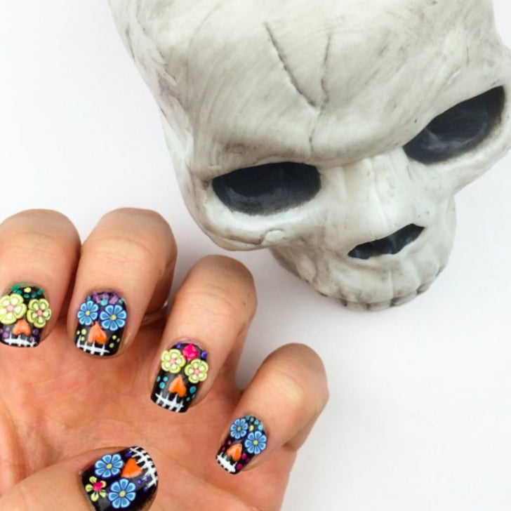 - Sugar Skull Nail Art Ideas POPSUGAR Latina