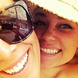 Even LC loves a good cheesy selfie. Source: Instagram user laurenconrad