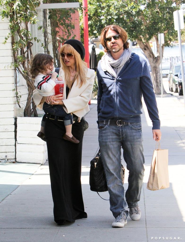 Rachel Zoe and Rodger Berman went shopping with Skyler.