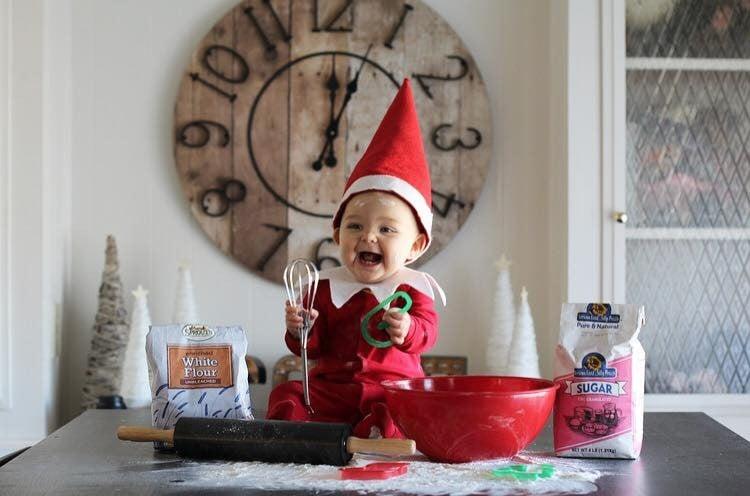 Esme Real Life Elf On The Shelf Popsugar Family