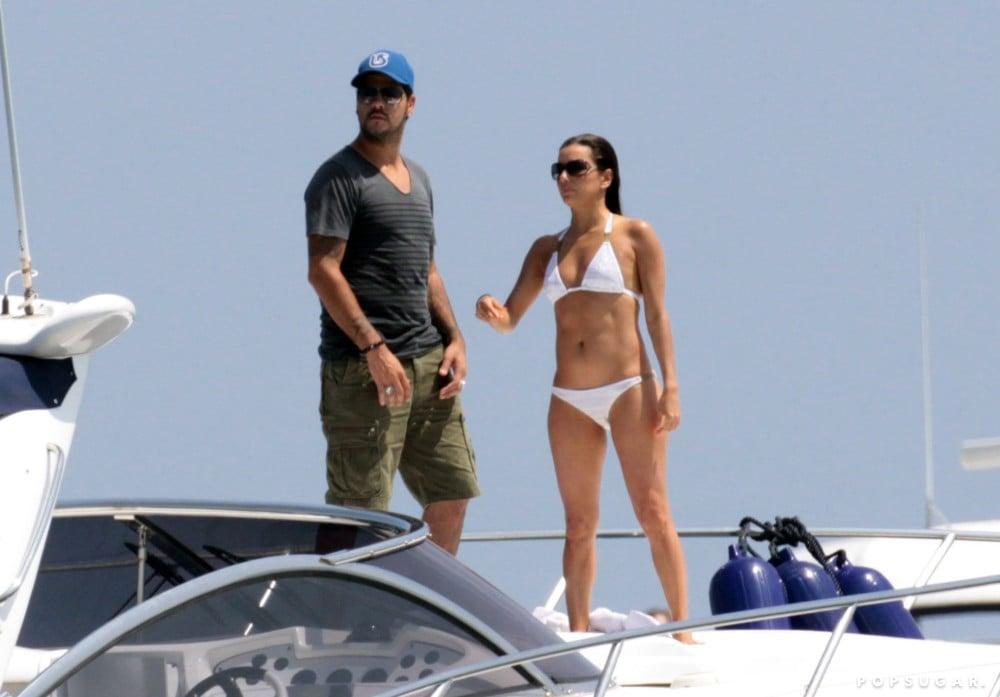 Eduardo Cruz and Eva Longoria visited Spain during their July 2011 getaway.