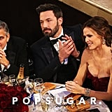 George Clooney, Ben Affleck, and Jennifer Garner
