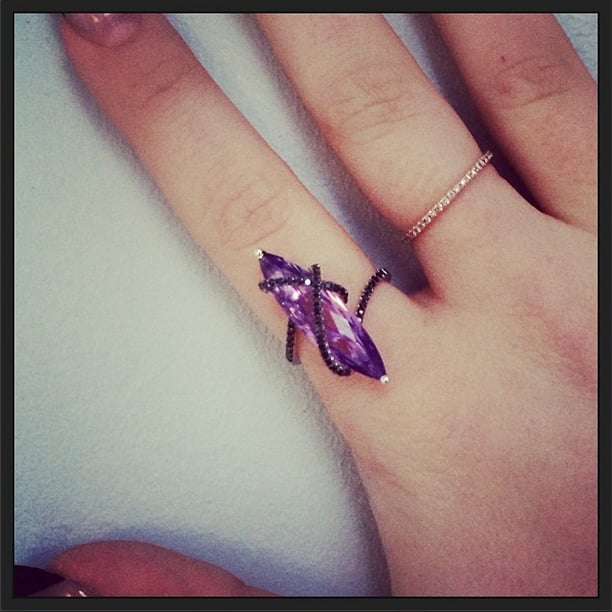 Kelly Osbourne's birthday present is a gift we wouldn't mind getting ourselves.  Source: Instagram user kellyosbourne
