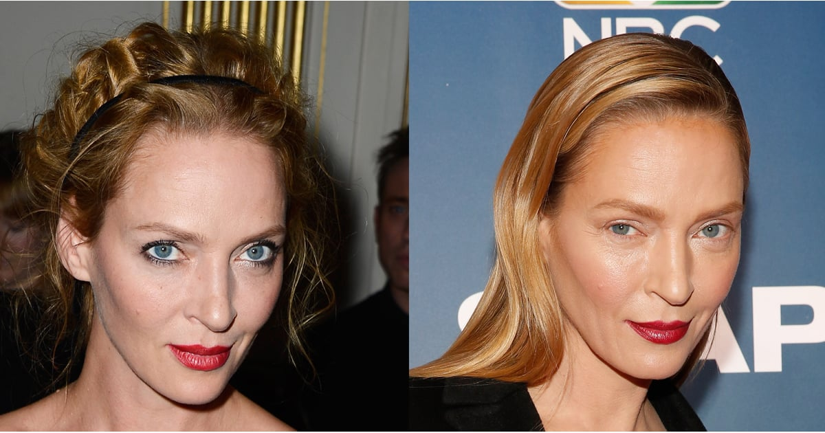Uma Thurman Looks Different Popsugar Beauty