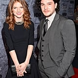The stars hit the red carpet together at the Seattle premiere of Game of Thrones in March 2013.