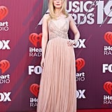 Elle Fanning at the 2019 iHeartRadio Music Awards