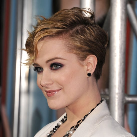 Evan Rachel Wood's Short Wavy Hair