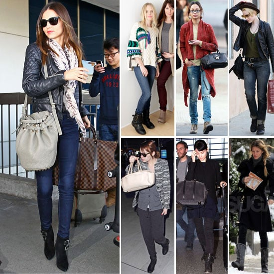 10 Celebrity Wedding Details You Can Totally Copy On A: Celebrities Wearing Biker Boots 2012